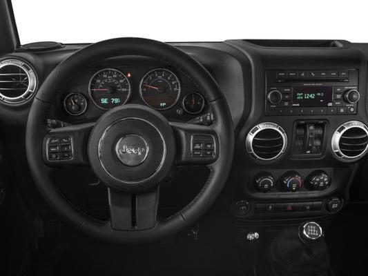 2017 Jeep Wrangler Unlimited Sahara In