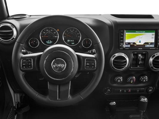 2017 Jeep Wrangler Unlimited Rubicon In